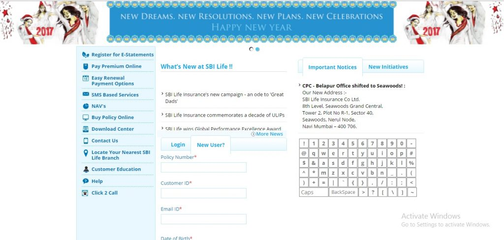 SBI Life Insurance | Policy Registration and Status - Bank ...