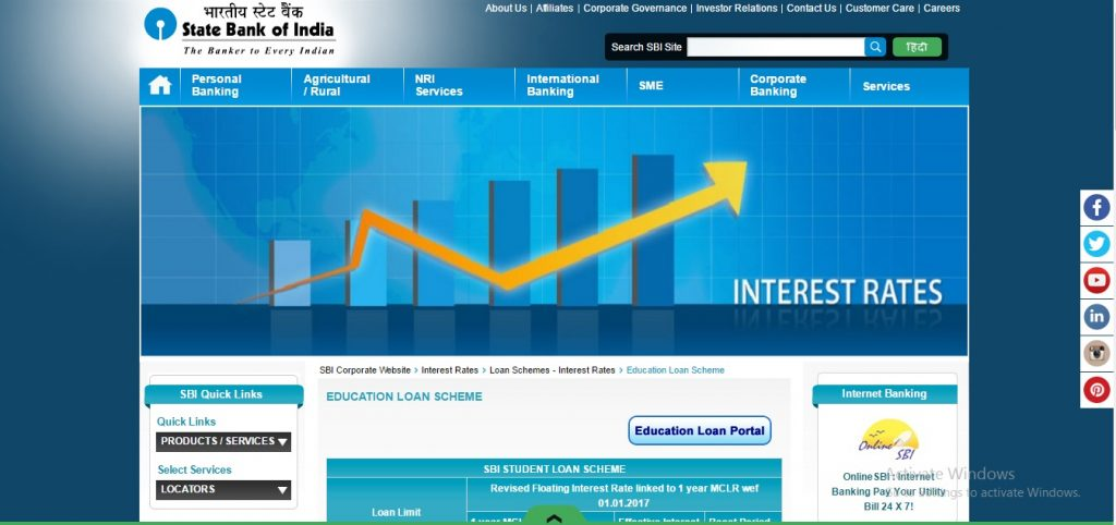 Online SBI Student education loan is given to Indian Nationals pursuing higher education either in India or abroad where admission has already been secured